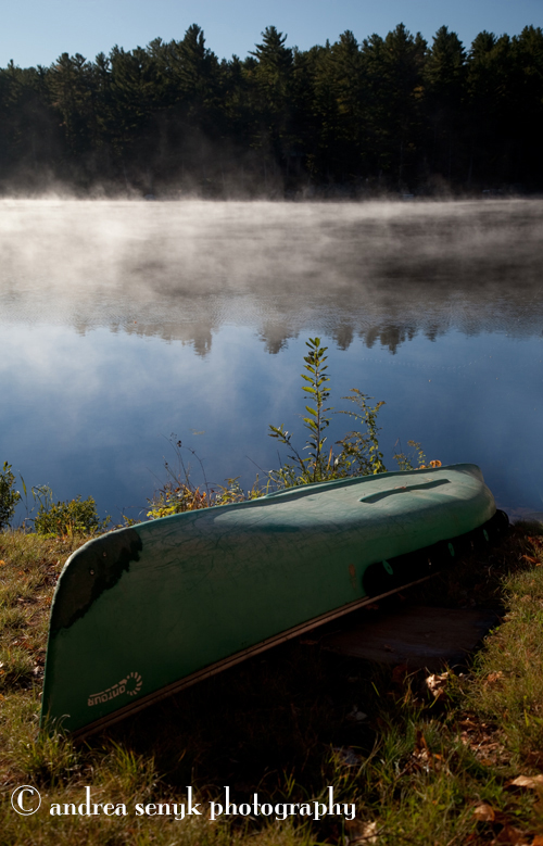 Morning Canoe