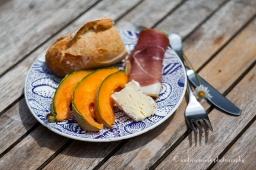 Cheese, Melon & Prosciutto Lunch