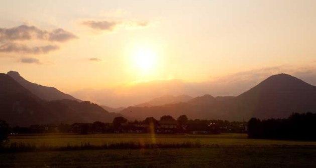 Alps Evening