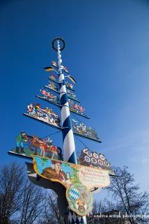 Viktualien Markt Maibaum