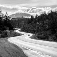 Beautiful British Columbia BW