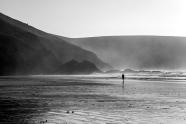 Bretagne Beach BW