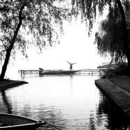 Dock Cartwheel BW