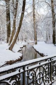 Eisbach im Winter