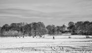 Englische Garden im Winter BW