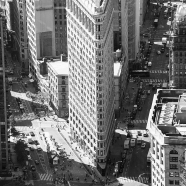 Flat Iron Building BW