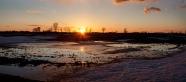 March Sunset Panorama