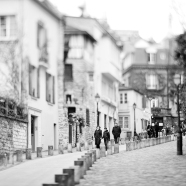 Montmarte I BW