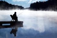 Sitting, Waiting, Fishing I