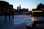 Skating on the Canel