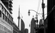 Toronto Shadows BW