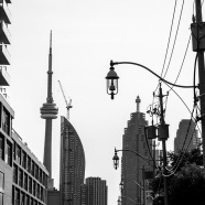 Toronto Shadows BW