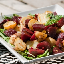 Beat Potatoe Salad